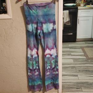 NWOT MERICAN Apparel tiedye flare  yoga pants